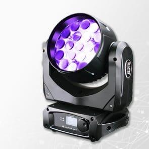Hi-LTTE Chameleon HL-10 LED Wash - Valovoimainen LED pesuri12W RGBW ledeillä ja11° - 58° zoomilla. Sopii hyvin isommallekkin lavalle. Tuotteessa on myös linssin värjäys, eli Aura!