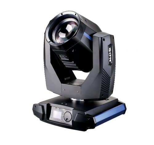 Hi-LTTE Rambo 230 Beam Moving Head - A more powerful version of the 2R Beam Moving Head, the Rambo 230 Beam Moving Head features a 230W 7R lamp. This Beam Moving Head is suitable for bigger stages and venues.